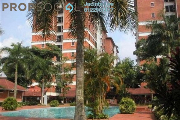 For Sale Condominium at Green Acre Park, Bandar Sungai Long Freehold Semi Furnished 3R/2B 338k