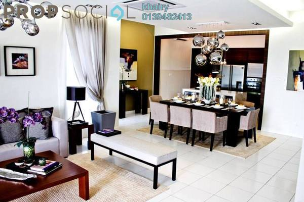For Sale Superlink at Hundred East, Bandar Enstek Freehold Unfurnished 4R/5B 575k