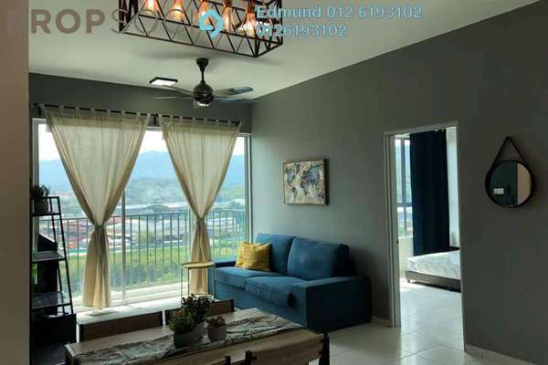 For Rent Condominium at The Zizz, Damansara Damai Freehold Fully Furnished 3R/2B 1.8k