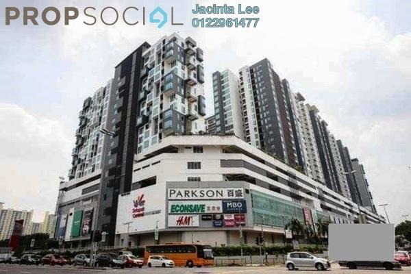 For Sale Serviced Residence at ZetaPark, Setapak Leasehold Semi Furnished 1R/1B 430k