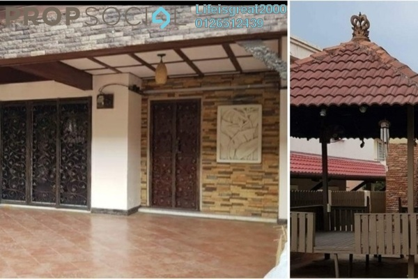For Sale Terrace at PP 4, Taman Putra Prima Freehold Semi Furnished 5R/4B 868k
