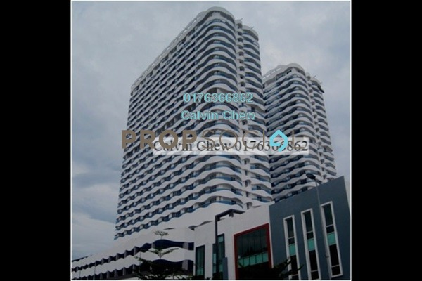 For Sale Serviced Residence at The Wave Residence, Melaka Freehold Unfurnished 2R/1B 320k