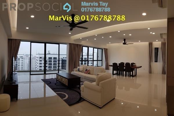 For Rent Condominium at Residensi 22, Mont Kiara Freehold Fully Furnished 4R/5B 11k