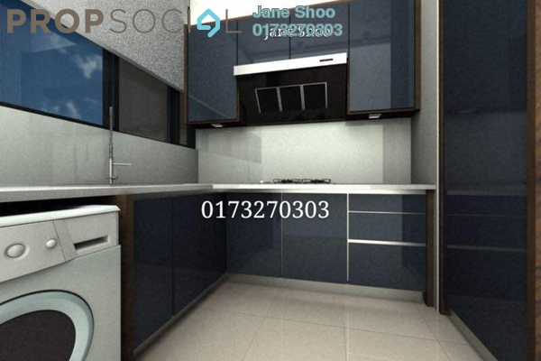 For Sale Condominium at The Z Residence, Bukit Jalil Freehold Fully Furnished 3R/2B 690k