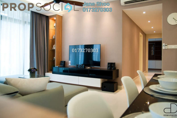 For Sale Condominium at The Z Residence, Bukit Jalil Freehold Fully Furnished 3R/2B 838k