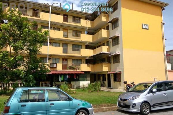 For Rent Apartment at Menara Alpha, Wangsa Maju Freehold Semi Furnished 2R/1B 850translationmissing:en.pricing.unit