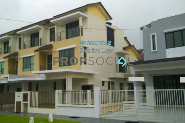 For Sale Terrace at Lakeside Residences, Puchong Freehold Semi Furnished 5R/5B 1.25m