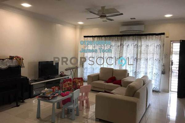 For Sale Terrace at Bandar Puteri Klang, Klang Freehold Semi Furnished 4R/4B 650k