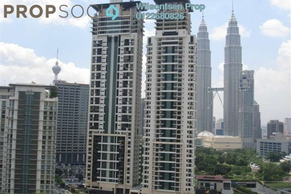 For Sale Condominium at The Binjai On The Park, KLCC Freehold Semi Furnished 4R/4B 5.6m