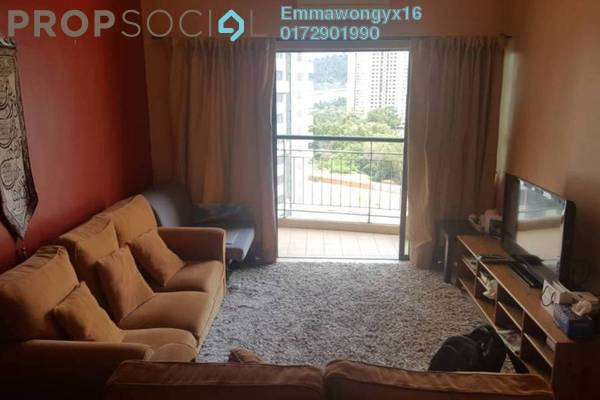 For Sale Condominium at Changkat View, Dutamas Freehold Fully Furnished 3R/2B 480k