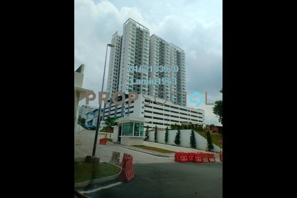 For Sale Condominium at Puncak 7 Residences, Shah Alam Freehold Unfurnished 3R/3B 720k