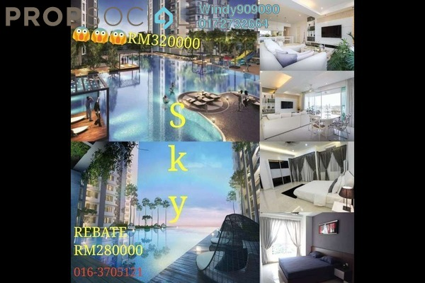 For Sale Condominium at Taman Maluri, Cheras Freehold Semi Furnished 3R/2B 250k