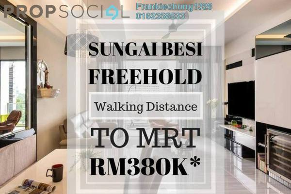 For Sale Condominium at Kenwingston Avenue, Sungai Besi Freehold Fully Furnished 3R/2B 530k