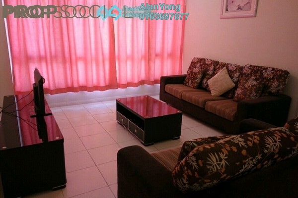 For Rent Condominium at The Saffron, Sentul Freehold Fully Furnished 3R/2B 2.25k