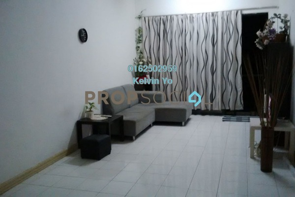 For Sale Apartment at SD Tiara Apartment, Bandar Sri Damansara Freehold Semi Furnished 3R/2B 318k