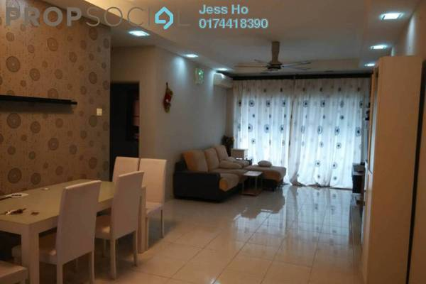 For Rent Condominium at Koi Kinrara, Bandar Puchong Jaya Freehold Fully Furnished 3R/2B 1.5k