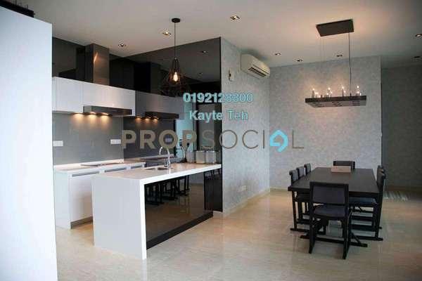 For Sale Condominium at Sunway Vivaldi, Mont Kiara Freehold Semi Furnished 4R/5B 3.15m