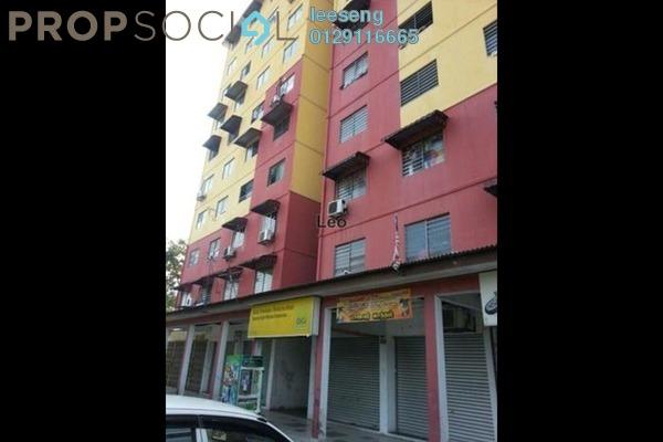 For Sale Apartment at Taman Kota Pendamar, Port Klang Freehold Unfurnished 3R/2B 90k