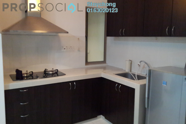 For Rent Condominium at Ritze Perdana 1, Damansara Perdana Freehold Semi Furnished 1R/1B 1.3k
