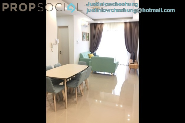 For Rent Condominium at South View, Bangsar South Freehold Fully Furnished 3R/2B 3.6k