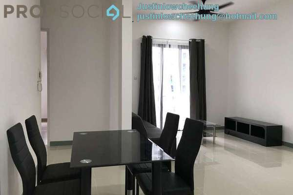 For Rent Condominium at South View, Bangsar South Freehold Semi Furnished 3R/2B 2.8k