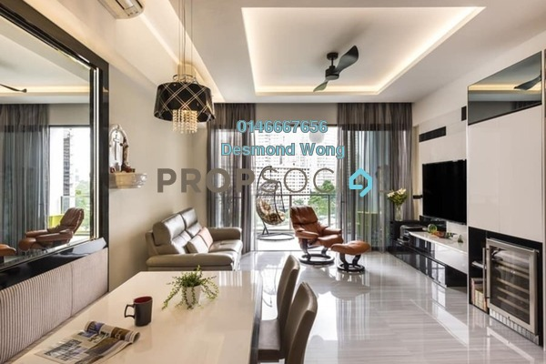 For Sale Condominium at Taman Seputeh, Seputeh Freehold Semi Furnished 3R/2B 563k