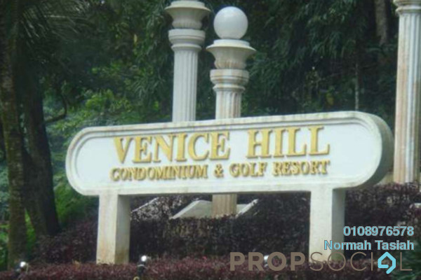 For Sale Condominium at Venice Hill, Batu 9 Cheras Freehold Fully Furnished 3R/2B 370k