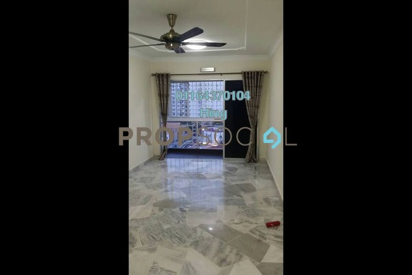For Rent Condominium at Genting Court, Setapak Freehold Semi Furnished 3R/2B 1.3k