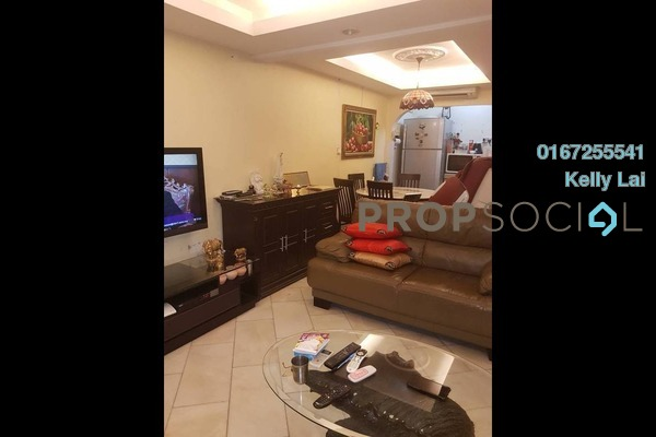 For Sale Terrace at Taman Sri Sinar, Segambut Freehold Semi Furnished 3R/2B 468k