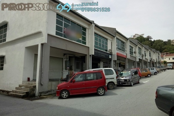 For Sale Shop at Taman Mega Jaya, Ampang Freehold Unfurnished 0R/0B 750k