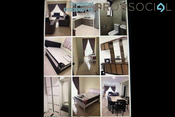 For Rent Condominium at Lido Residency, Bandar Sri Permaisuri Freehold Fully Furnished 2R/2B 2.4k