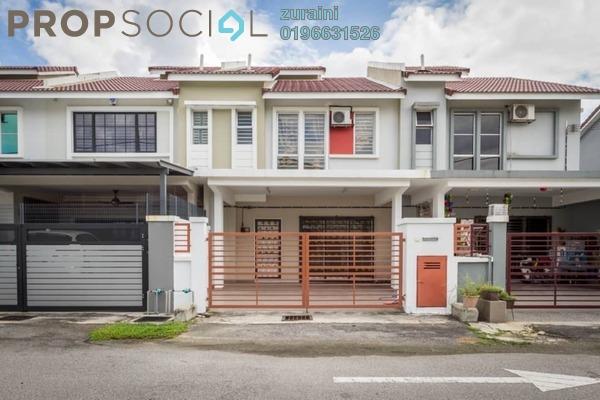 For Sale Terrace at Taman Dato Demang, Bandar Putra Permai Freehold Semi Furnished 4R/3B 650k