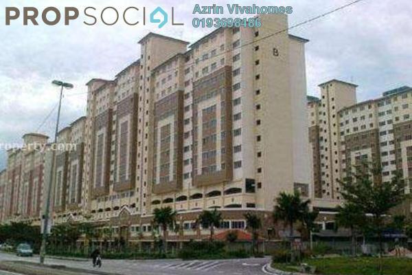 For Rent Apartment at Suria Kinrara, Bandar Kinrara Freehold Semi Furnished 3R/2B 1k
