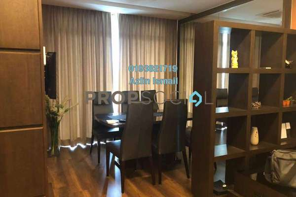 For Rent Condominium at Kristal View, Shah Alam Freehold Fully Furnished 4R/2B 2.8k