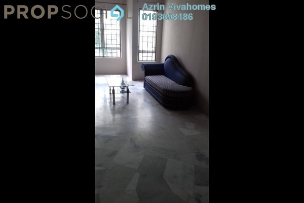 For Rent Apartment at D'Kiara Apartment, Pusat Bandar Puchong Freehold Semi Furnished 3R/2B 1.3k