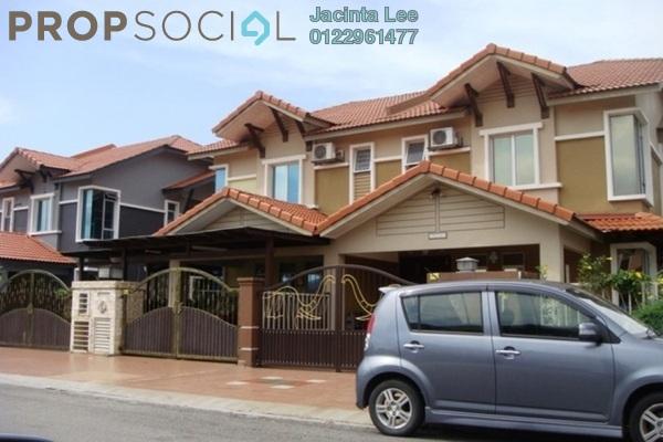 For Sale Semi-Detached at Taman Aman Perdana, Meru Freehold Semi Furnished 4R/3B 567k