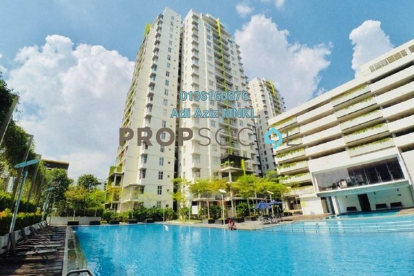 For Sale Condominium at Midfields, Sungai Besi Freehold Semi Furnished 4R/5B 780k