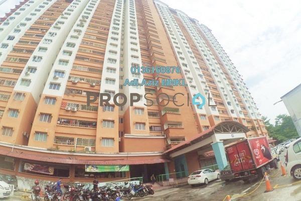 For Sale Apartment at Flora Damansara, Damansara Perdana Freehold Unfurnished 3R/2B 195k