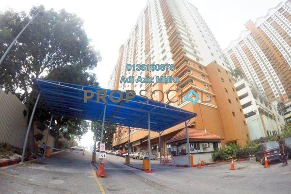 For Sale Apartment at Flora Damansara, Damansara Perdana Freehold Unfurnished 3R/2B 215k