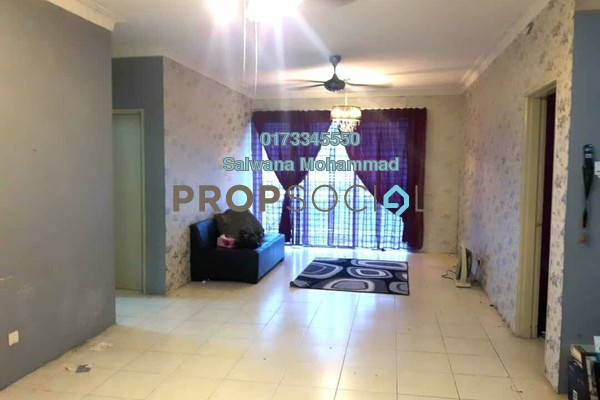 For Sale Condominium at Platinum Lake PV13, Setapak Freehold Unfurnished 3R/2B 495k