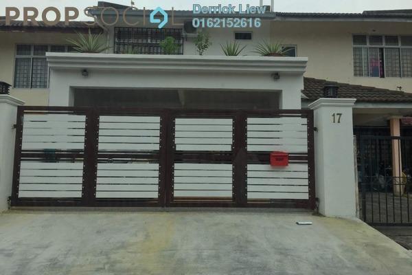 For Sale Terrace at Mahkota Walk, Bandar Mahkota Cheras Freehold Unfurnished 4R/3B 599k