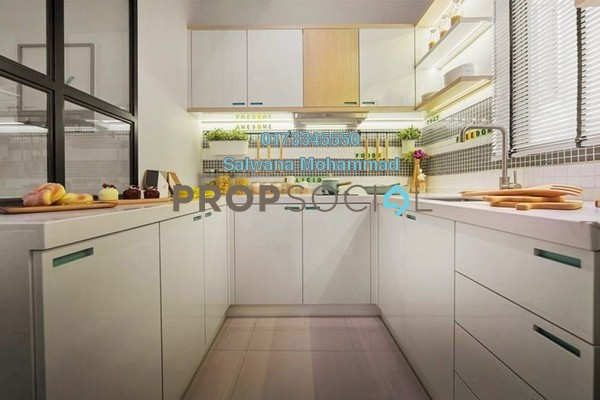 For Sale Condominium at SkyAwani 3 Residence, Setapak Freehold Unfurnished 3R/2B 300k