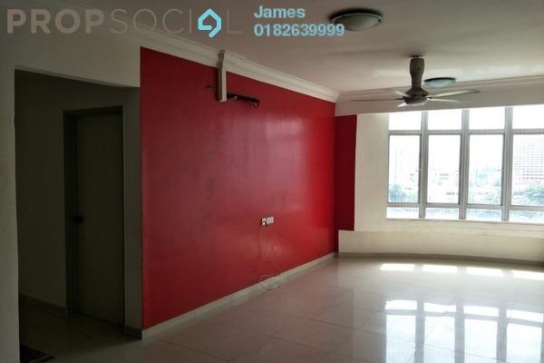 For Rent Condominium at Putra Majestik, Sentul Freehold Semi Furnished 3R/2B 1.35k