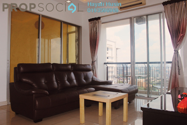 For Sale Condominium at Vistaria Residensi, Cheras Freehold Fully Furnished 3R/2B 765k