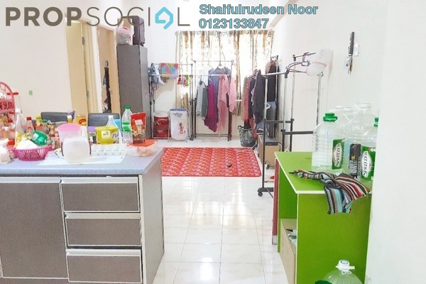 For Rent Serviced Residence at Spring Ville, Ukay Freehold Semi Furnished 3R/2B 1.35k