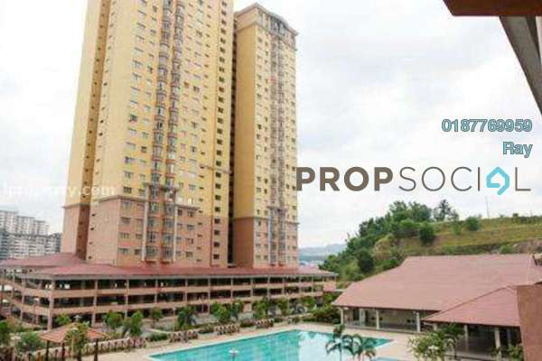 For Rent Condominium at Angkasa Condominiums, Cheras Freehold Fully Furnished 3R/2B 1.8k
