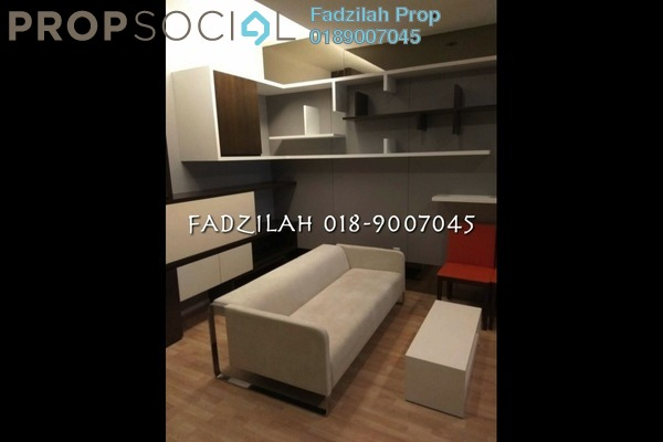 For Rent SoHo/Studio at VERVE Suites, Mont Kiara Freehold Fully Furnished 0R/1B 2.9k