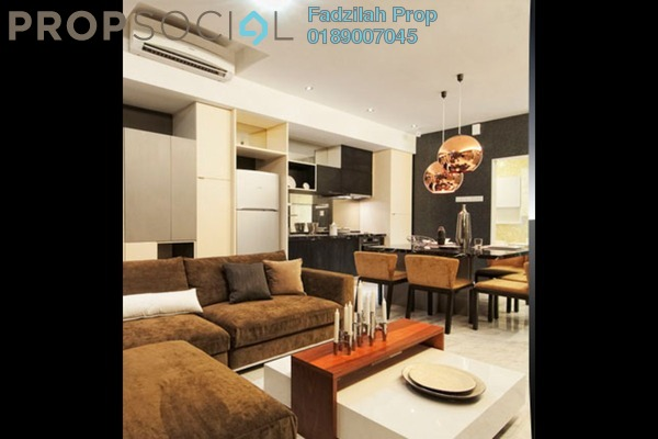 For Sale Condominium at VERVE Suites, Mont Kiara Freehold Fully Furnished 2R/2B 1.34m