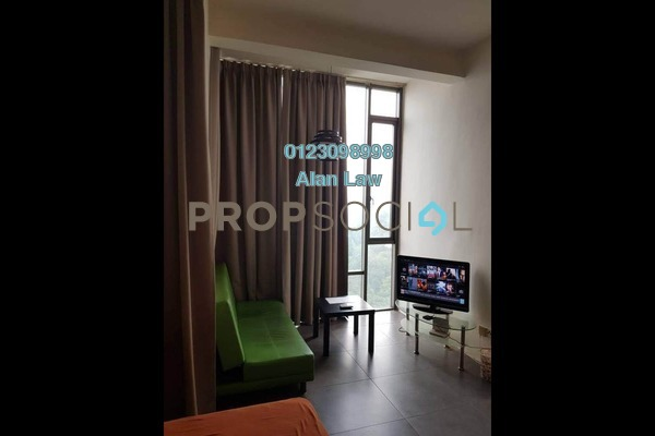 For Rent SoHo/Studio at Empire Damansara, Damansara Perdana Freehold Fully Furnished 0R/1B 1.2k