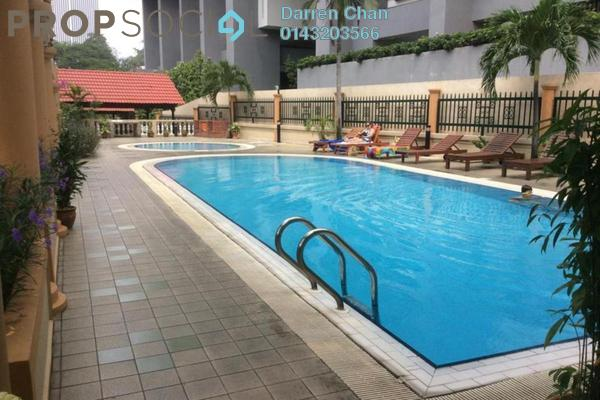 For Rent Condominium at City Gardens, Bukit Ceylon Freehold Fully Furnished 3R/2B 3.2k